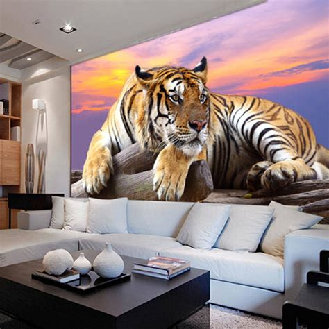 animal bedroom wallpaper tigers live promotion shop for promotional tigers live on