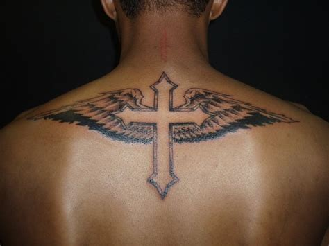 cross tattoo with numbers tattoo trends cross tattoos for men winged cross
