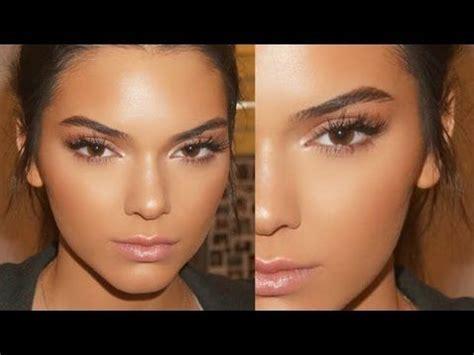 tutorial makeup glowing indonesia kendall jenner glowing skin spring makeup tutorial 2016