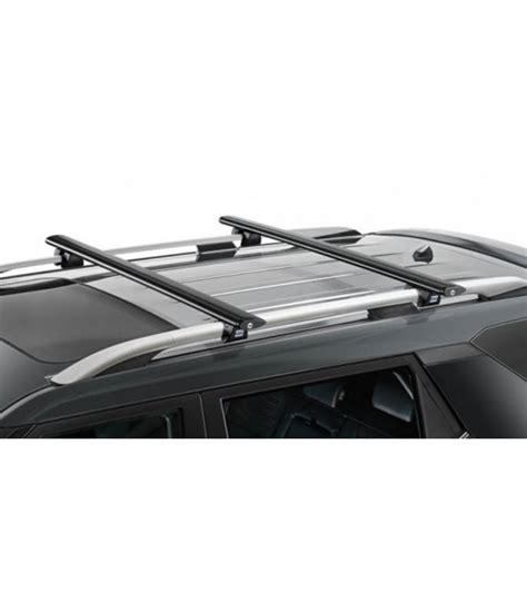barras techo cruz barras del techo cruz aluminio negro para coche renault koleos