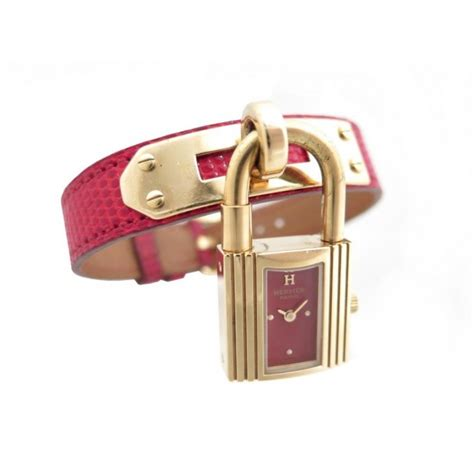 montre cadenas hermes prix montre hermes kelly cadenas plaque or cuir lezard