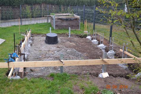 carport h anker einbetonieren haltung wir bauen ein aussengehege kaninchen m 246 hre