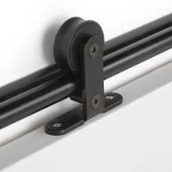rail coulissant bolero 2 noir pour porte de largeur 93 cm