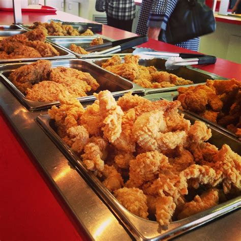 Chicken Wing Buffet Fried Chicken Strips Gizzards Liver Hot Wings Fish