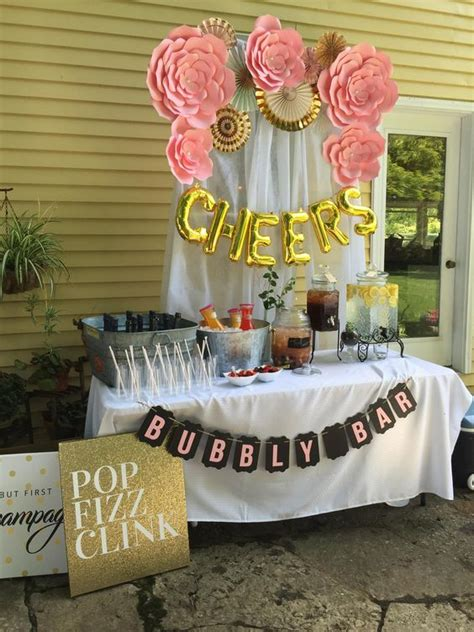 bar ideas for baby shower how to set up the cutest mimosa bar for a