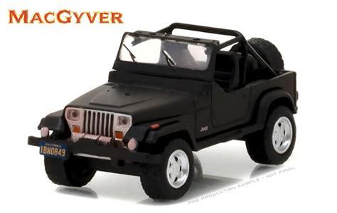 Greenlight 1987 Jeep Wrangler Yj Patriot greenlight diecast 1987 jeep wrangler yj macgyver 1985 1992