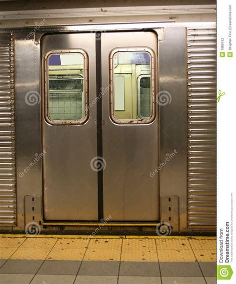 Door Nyc by Doors Of New York Subway Car Stock Photo Image 1883492
