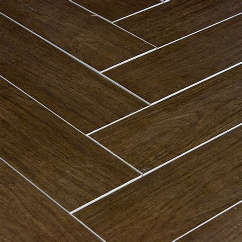 Porcelain Plank Tile Flooring Prestige Walnut Wood Plank Porcelain Modern Wall And Floor Tile Other Metro By Tile Stones