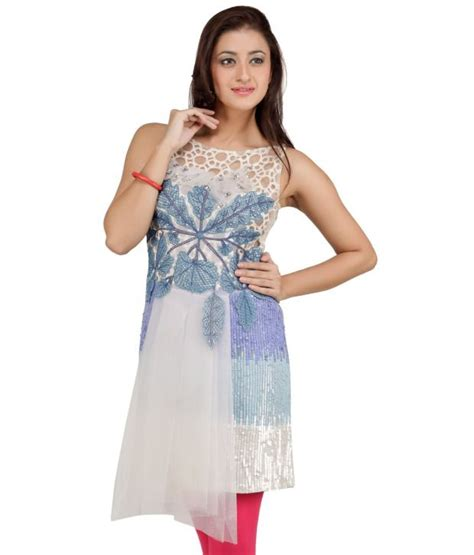 net kurti pattern images geisha designs white net women kurti buy geisha