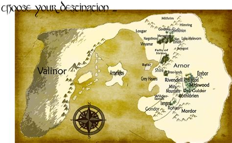 entire middle earth map the silmarillion writers guild an community for
