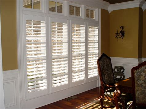 Shutter Blinds For Windows Decor Elite Clear View Shutter Designs Contemporary Living Room By Elite Shutters