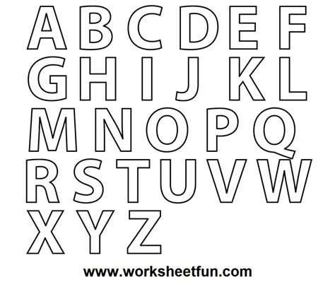 printable large letters and numbers a z alphabet coloring pages download and print for free