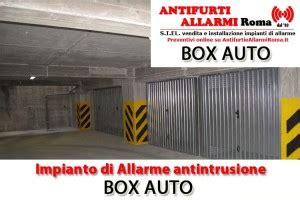 antifurto appartamento costo impianto di allarme antifurto box auto roma antifurti e