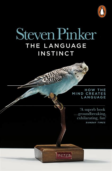the language instinct how the mind creates language by