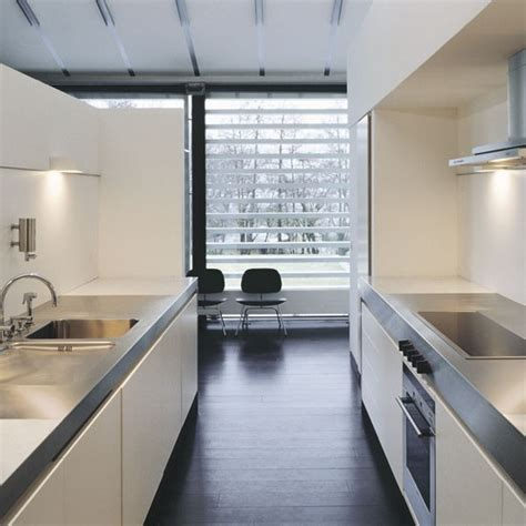 small galley kitchen with dining area designs uk modern making the most out of your galley kitchen sustainable