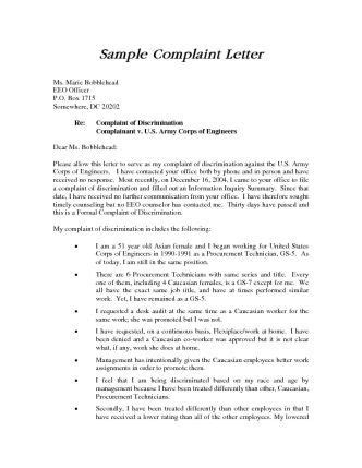 Complaint Letter Harassment In Workplace a complaint letter to hr is an important step in documenting a serious workplace issue hr