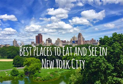 new york best best places to eat and see in new york city modern honey