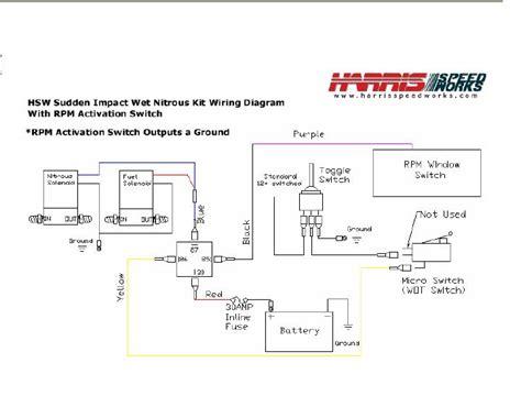 nitrous relay wiring diagram efcaviation