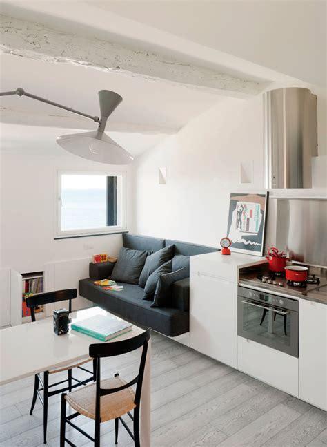 small modern attic apartment  harbour view idesignarch interior design architecture