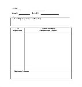 search results for pe lesson plan template blank