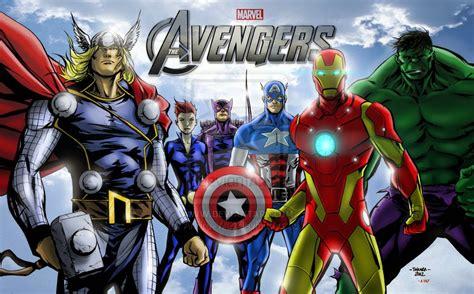 film animasi marvel kumpulan gambar avenger assemble gambar lucu terbaru