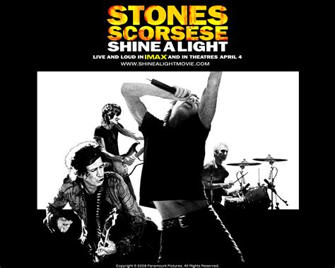 Shine A Light Rolling Stones by