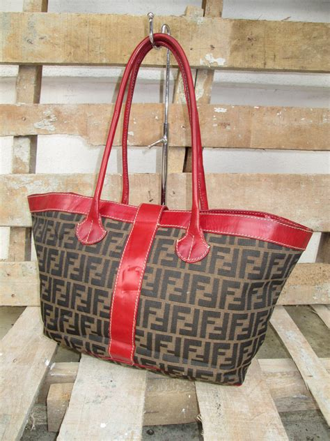Bonia Tote Shoulder Bag Seri 502 D0rayakeebag Authentic Fendi Zucca Monogram Tote Shoulder