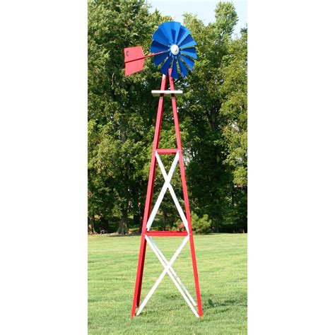 decorative backyard windmill outdoor water solutions 174 ornamental large powder coated