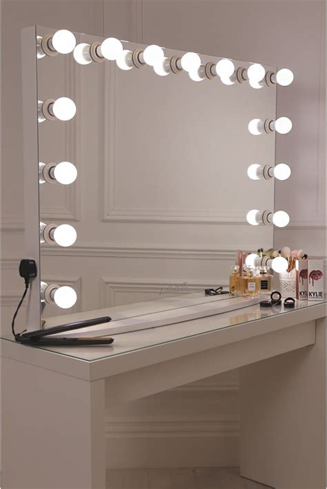 Vanity Mirror Diy by Diy Vanity Mirror With Lights For Bathroom And Makeup