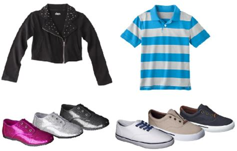 target daily deal boys and clothes and shoes as low