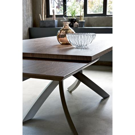 sedie tavoli bontempi casa tavolo artistico allungabile 160x90 legno