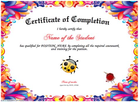 search results for free perfect attendance certificates