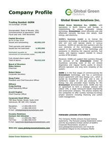doc 638479 best company profile format company profile