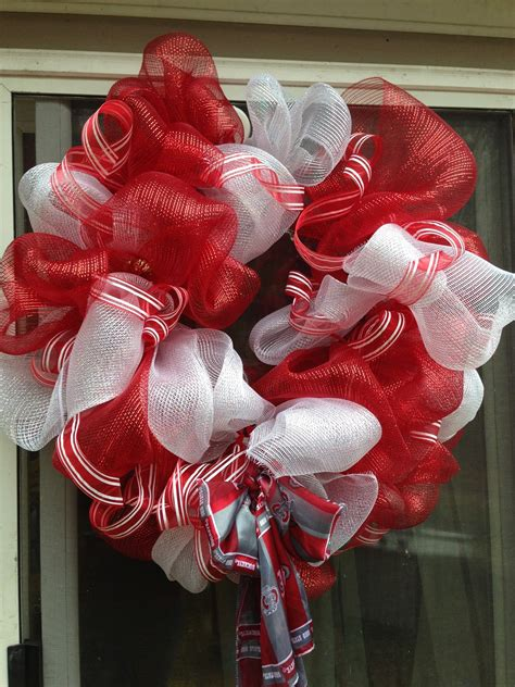 jane pinterested simple mesh ribbon wreaths