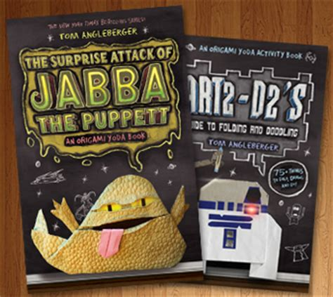 Origami Yoda Book Series - author spotlight tom angleberger bestselling author of