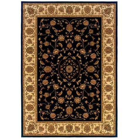Natco Rugs by Natco Kurdamir Rockland Black 5 Ft 3 In X 7 Ft 7 In