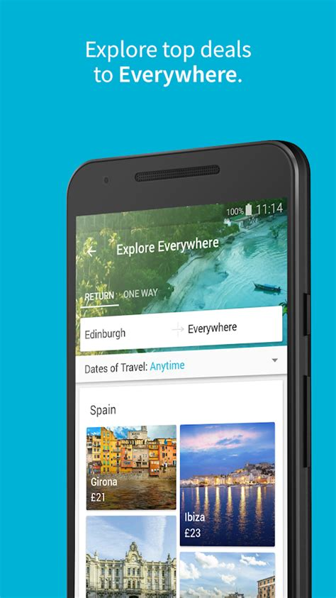 skyscanner flights hotels  car hire android apps