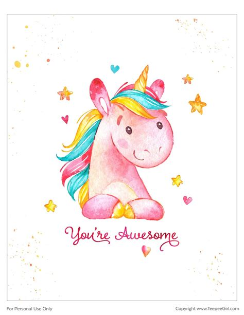fotos para cuadros para imprimir p 243 sters de unicornios para imprimir gratis ideas y