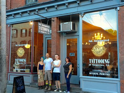 saugerties ink inc tattooing