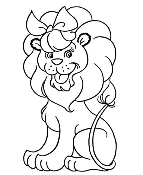 printable coloring pages lion lion coloring pages printable