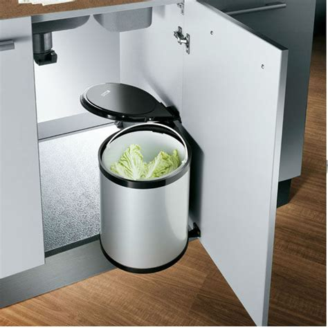kitchen cabinet waste bins oppein interlink design waste bin for kitchen cabinet op