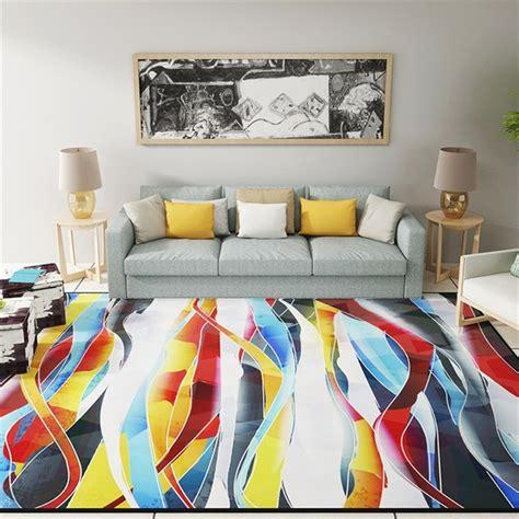 tapis décoratif pour salon 3871 awesome salon moderne colore pictures amazing house