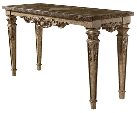 Marble Sofa Tables Marble Top Sofa Table Ornate Accent Furniture With