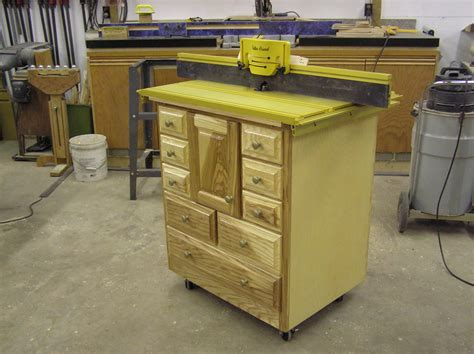 router cabinet by klipper lumberjocks