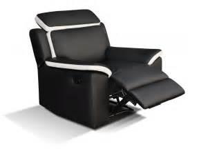 canap 233 233 t fauteuil relax gris blanc ou noir blanc souffle
