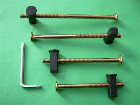 Bunk Bed Nuts And Bolts Bed Bolts Heavy Duty M8 Replacement Fixing Kits 8mm Square End Block Nuts Metal Beds Bunks