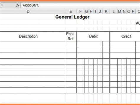 simple ledger template accounting ledger template account book template simple