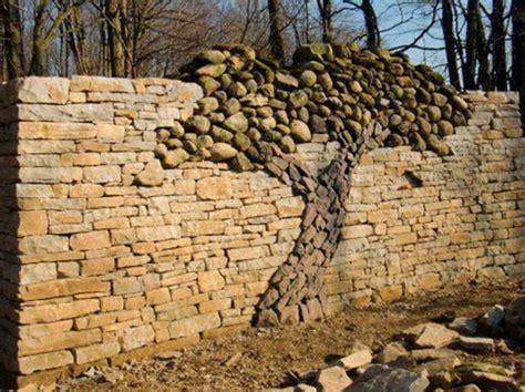 creative stacked stone wall ideas home design garden architecture blog magazine