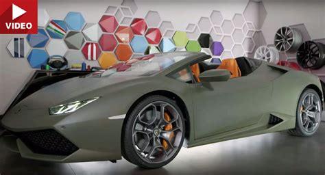Jeep Lamborghini Lamborghini Ad Personam Made This Huracan Spyder Look Like