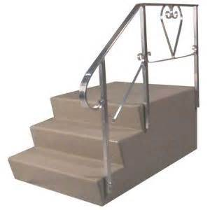 Aluminum Handrail Parts Everything You Need To Know About Mobile Home Steps